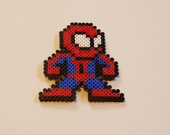 Spiderman Perler Art
