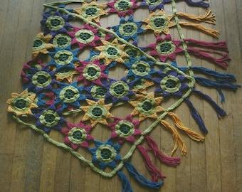 Crochet Flower Wrap PDF Crochet Pattern