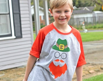 St. Patrick's Day Shirt for Boys - St. Patricks Day Shirt for Kids - Leprechaun Shirt - St. Paddy's Day Tshirt - Leprechaun Outfit - Hipster