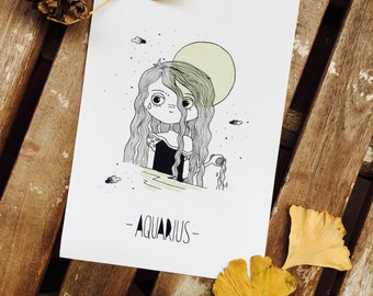 Illustration Aquarius