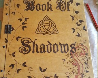 Book of Shadows A3. Wooden Handmade