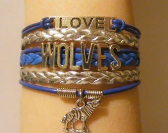 Wolf bracelet, wolf jewelry, wolves bracelet, wolves jewelry, fashion bracelet, fashion jewelry, love wolves bracelet, love wolves jewelry