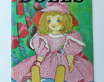 Dolls An Educational Coloring Book By Spizzirri 1981
