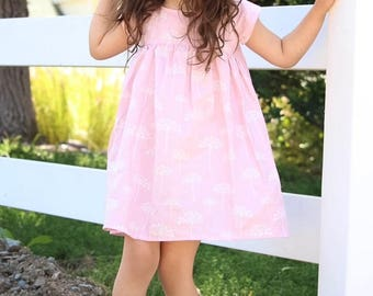 girls dresses, baby girl dress, pink outfit, flower dress,spring fashion, toddler dress,  pictures, baby girl, birthday outfit