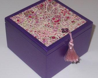 Jewellery/Trinket/Decorative/Keepsake Wooden Box