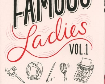 Famous Ladies Zine: Vol 1