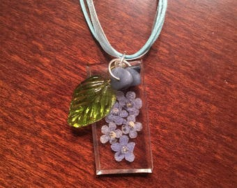 Forget Me Not and Blue Quartzite