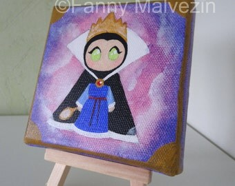 Evil Queen (Snow White) - Small painting