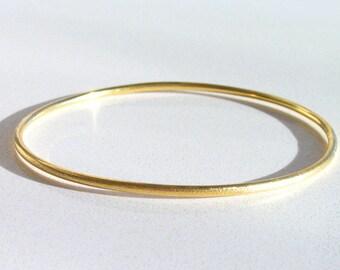 Solid Gold Bangle, 14k Gold Bangle, Gold Bracelet, Bangle Bracelet, Solid Gold Bracelet, 14k Gold Bracelet, Stacking Bangle