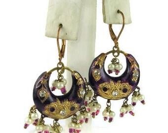 Ornate Dangle Earrings