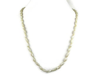 Vintage Freshwater Rice Pearl Necklace