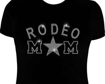 Rodeo T shirts-Rhinestone-Rodeo Shirts-Rodeo Iron On transfer