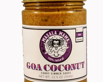 Goa Coconut Curry - All-Natural Indian Simmer Sauce