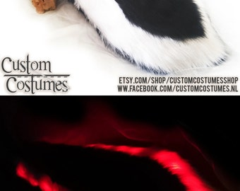 Light-up Skunk Tail with led's!