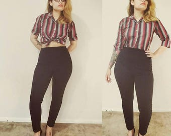 1960's  Lady Sutton Cropped Shirt