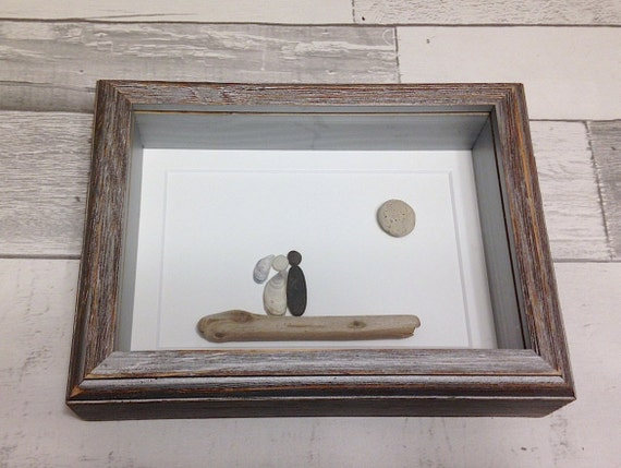Unique Wedding Gifts Ontario : Pebble Art ~ unique wedding gift, anniversary gift, personalized ...