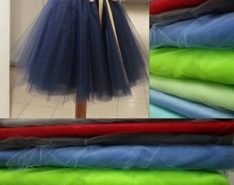 Stardust tulle Skirt by Wolvenstyle. Multiple colors, warm lining.