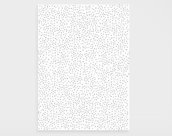 "Gift paper ""Black dots"""