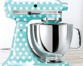 Polka Dot Kitchen Mixer Decals