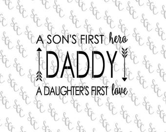 Reusable Stencil - Father's Day Design - 2 sizes to choose from!