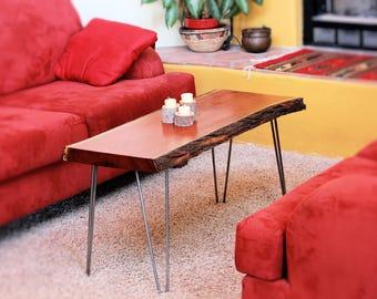 Live edge mesquite table/bench