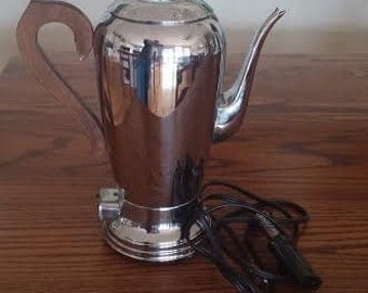 Percolator - Aluminum Coffee Maker - Keystoneware - Vintage Coffee Maker