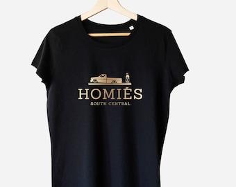 Homies South Central, inspired logo, Parody t-shirt, Parody shirt, Homies design