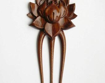 """Hair fork """"Lotus"""""""