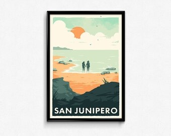 San Junipero Black Mirror Poster Print
