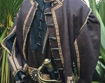 Faux Leather Jacket - Doublet