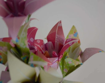 Paper Flowers -  Origami