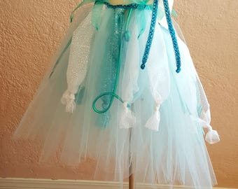 Couture Jellyfish Tutu Dress . Jellyfish Dress Up . Jellyfish Halloween Costume . Toddler Halloween Costume . Under The Sea . 2T - 5T