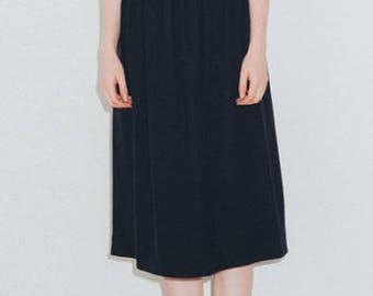 BASE range designer RAW SILK skirt