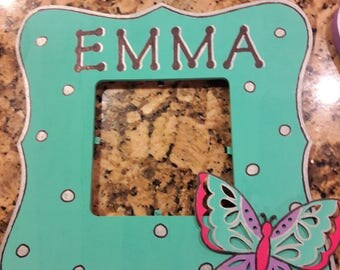 Personalized Butterfly frames