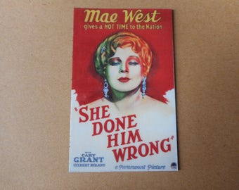 Magnet- She Done Him Wrong movie Mae West Cary Grant 1933 movie