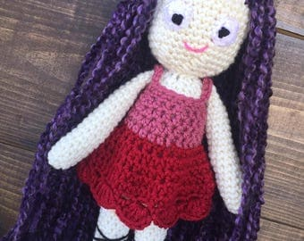 Beautiful Crochet Amigurumi Doll