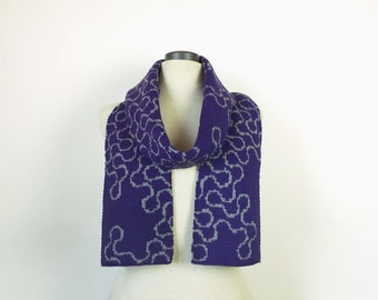 Fractal scarf, fractal gift, dragon scarf, fractal accessory, cute geeky scarf, maths scarf, science scarf, for him, Australian