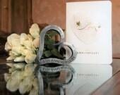 6th Anniversary Iron Heart  Iron Anniversary  Personalized Anniversary Gift  Valentine  Wedding  Blacksmith Made