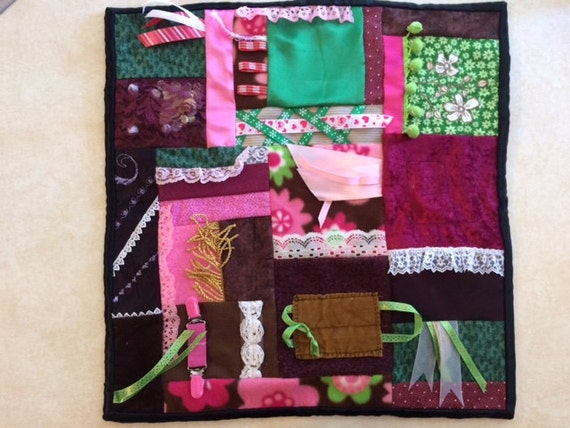 Fidget Quilt / Sensory Blanket - Spring is Coming