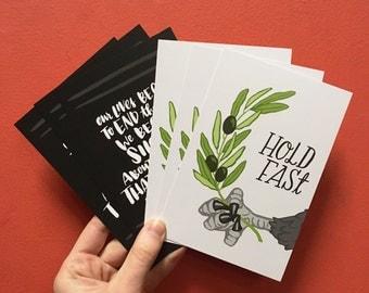 Hold Fast & MLK Jr. Resist Postcard Set