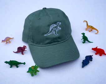 DINOSAUR EMBROIDERED HAT