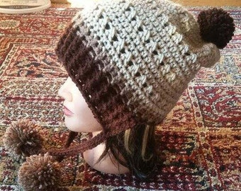 Crochet For A Cause Slouchy Brim Hat Pattern Only