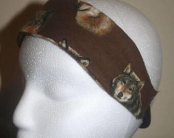 wolf headband