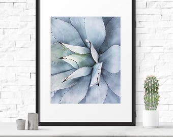 Succulent print, Fine art photography, Cactus print, Succulent photo, Photography decor, Cactus printable, Succulent art print, Nature print