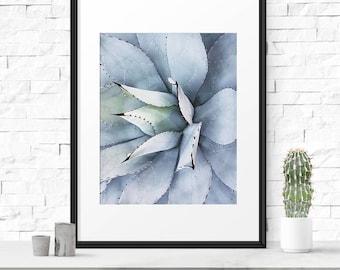 Succulent print, Fine art photography, Cactus print, Succulent photo, Photography decor, Cactus printable, Succulent art print, Nature print
