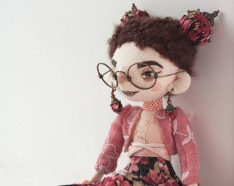 Art doll by name Sarah.
