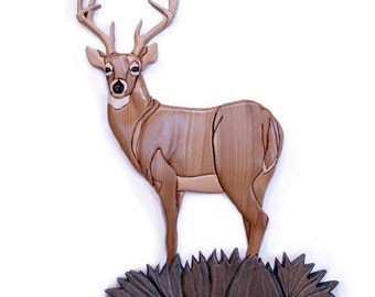 Intarsia Whitetail Buck