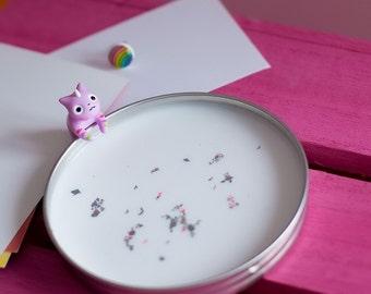 Lady Rainicorn Cat Earring / Rainbow stud / Adventure Time Cartoon / Rainbow Earring / Kawaii Cute Rainbow