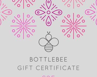 Jewellery Gift Certificate. Jewellery gift voucher. Wedding gift. Bridesmaid gift. Birthday gift. Gift for mum. Gift for her. Gift for him.