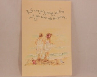 NEW! Vintage Friend by Dayspring Single Greeting Card and Envelope.
